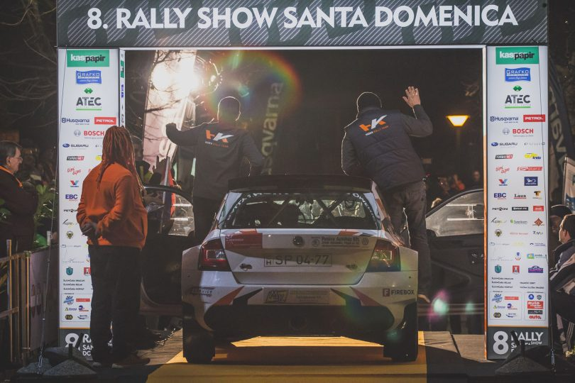 8 Rally Show Santa Domenica 2017 #2 Ceremonijalni start